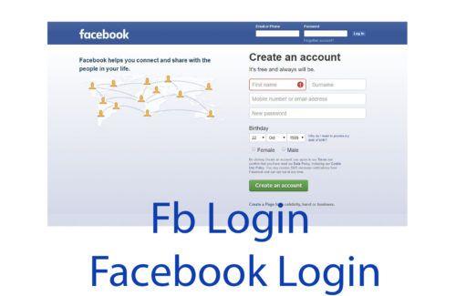 Fb com login Login
